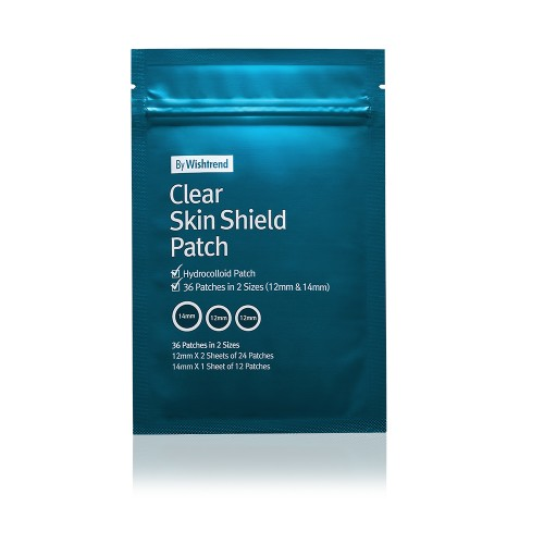Clear Skin Shield Patch [36 Patches in 2 sizes ]