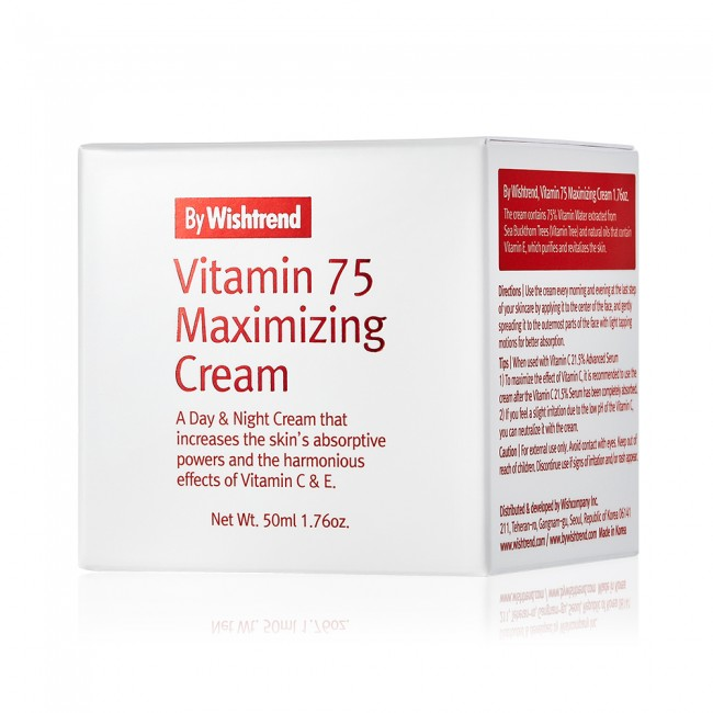 Vitamin 75 Maximizing Cream 50ml