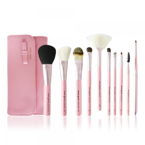 Makeup Brush Set - Sakura Pink (10 pcs)