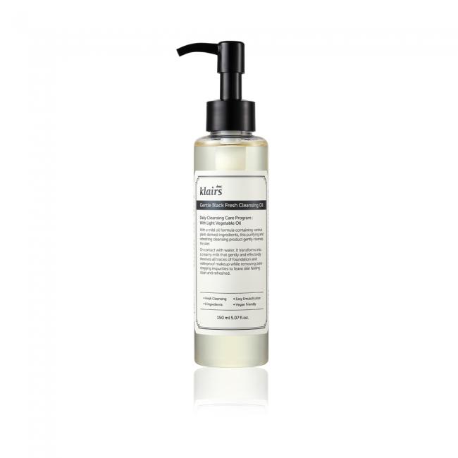 Gentle Black Fresh Cleansing Oil 150ml (GWP) BB Cream Samples x 10PCS