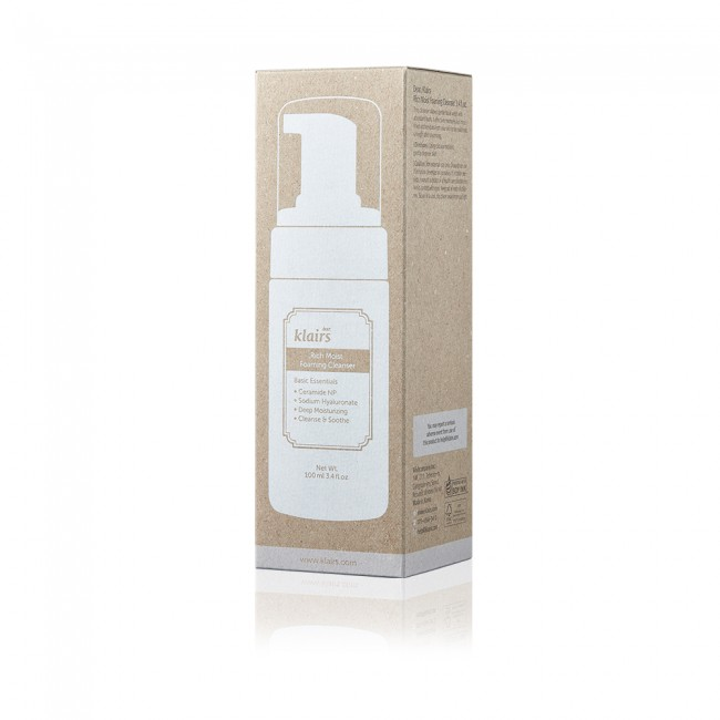 Rich Moist Foaming Cleanser 100ml (GWP) All-over Lotion Samples x 5PCS