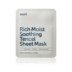 Rich Moist Soothing Tencel Sheet Mask [ 5pcs ]