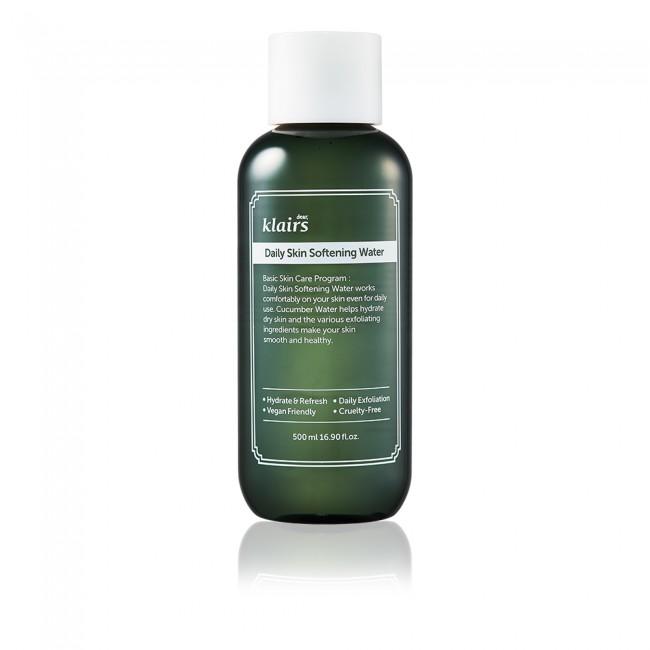 Daily Skin Softening Water 500ml (GWP) Soothing Serum Samples x 5PCS