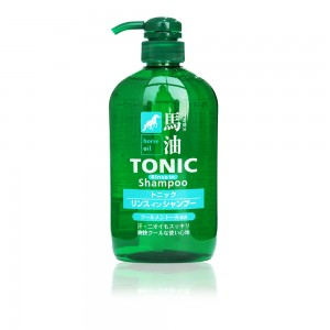 Horse Oil Tonic Rinse in Shampoo 600ml