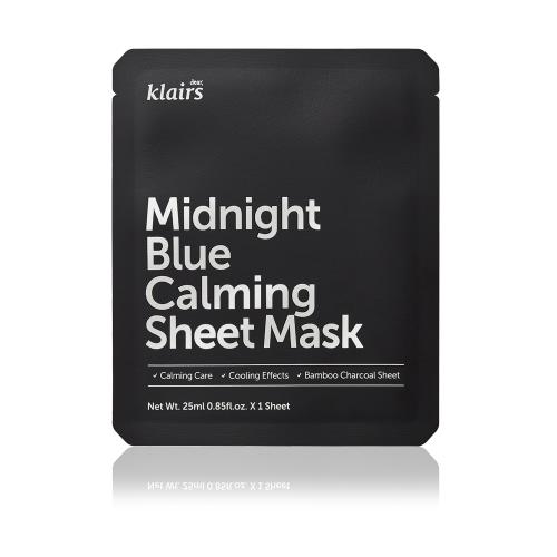 Midnight Blue Calming Sheet Mask [ 5 PCS ]