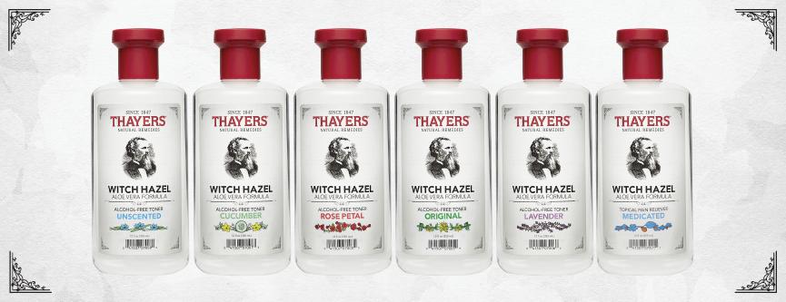 Thayers Rose Petal Witch Hazel with Aloe Vera Toner